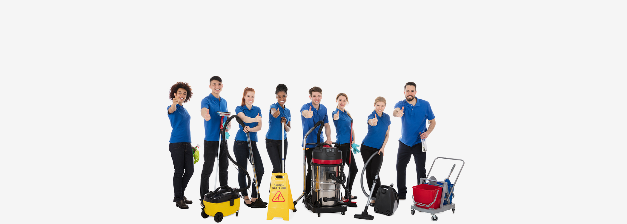 qualified experienced cleaning professionals