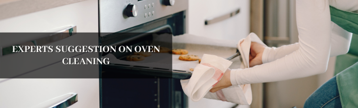 Experts suggestion on oven cleaning